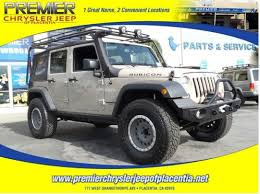 our jeep world premier chrysler jeep of placentia