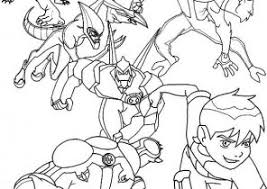 ben 10 coloring pages coloring4free