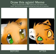 Draw This Again Meme Fail - draw this again meme to emberheart23 by elizzia on deviantart