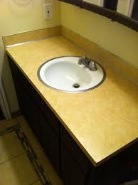 Inexpensive Vanities For Bathrooms Hack An Inexpensive Granite Table Into A Bathroom Vanity 9 Steps