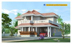 Kerala Home Design Low Cost Beautiful 2 Story Kerala House Design At 2786 Sq Ft
