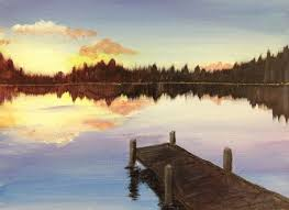 best 25 lake painting ideas on pinterest water color painting