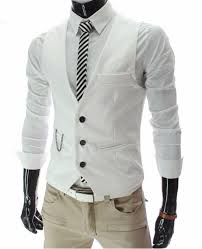 dress vests for men suit sleeveless business male for vest casual
