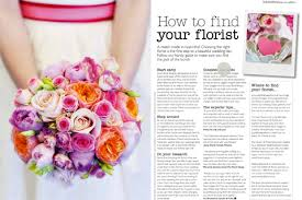 wedding flowers magazine recent press featured in wedding flowers magazine bloved