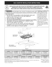 kenmore cooktop kenmore elite 30 u0027 u0027 gas cooktop pdf installation