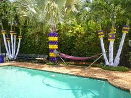 dreamark events blog elegant columns wrapping by balloons column