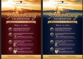 church anniversary flyer and poster template godservanniversary