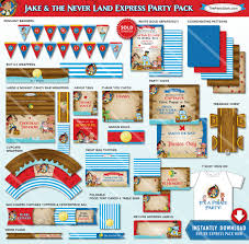 jake neverland pirate birthday party decorations jake