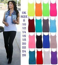 women u0027s sleeveless stretch vest top strappy cami tops u0026 shirts