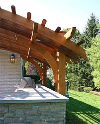 pergola outdoor kitchen contemporary outdoor kitchen pergola no kp6 by trellis structures