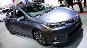 toyota corolla 2017 interior 2017 toyota corolla sport altis facelift walkaround exterior