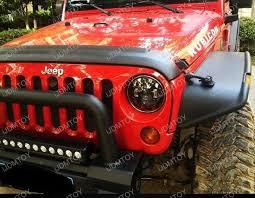 2012 jeep wrangler headlights jeep wrangler cj 40w high power cree 7 inch led headlights