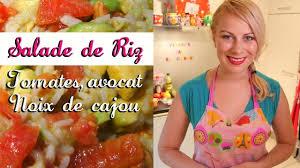 fait sa cuisine virginie fait sa cuisine la recette de la salade de riz aux noix