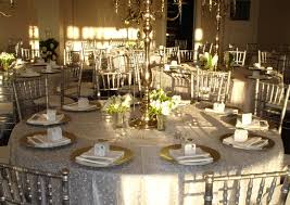 wedding tables table settings