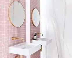 Pink Bathroom Rugs Mod The Sims Retro Tiled Walls Pink Bathrooms Forever Apinfectologia