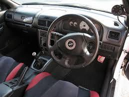 subaru rsti interior subaru japanese used car and truck