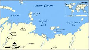 Ocean Depth Map Laptev Sea Wikipedia