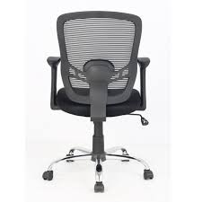 White Mesh Office Chair by Tygerclaw Mid Back Mesh Office Chair 123inkcartridges Canada