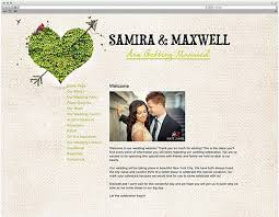 wedding web wedding website sle toretoco wedding website exles achor