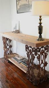Sofa Table Decor by Best 25 Wrought Iron Console Table Ideas On Pinterest Iron