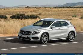 mercedes gla amg ausmotive com mercedes gla 45 amg revealed