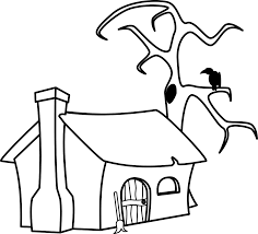 file witch u0027s cottage in black and white svg wikimedia commons