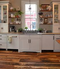buffalo york kitchen with reclaimed hardwoods flooring