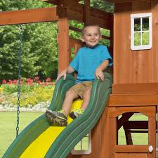 Amazon Backyard Playsets by Amazon Com Backyard Discovery Oakmont All Cedar Wood Playset