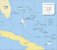 Map Bahamas The Bahamas Tourism Vip Com