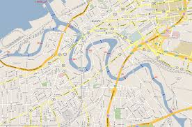 Usa Rivers Map by Cleveland Map Detailed Road Map Of Cleveland Ohio Very Clear Map