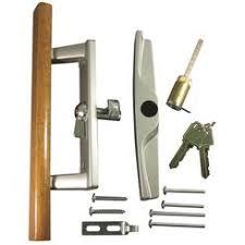 sliding patio door lock keyed