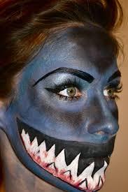 original halloween makeup best 10 shark makeup ideas on pinterest make up green shark