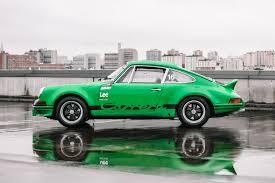 porsche 911 green elferspot the pleasure of driving a racing porsche olivier and