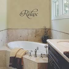 relax spa wall quotes decal wallquotes com