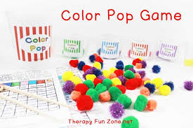 color pop game for fine motor and writing therapy fun zone