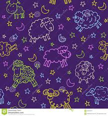 halloween web page background seamless pattern with sheep in night stock vector image 59582974