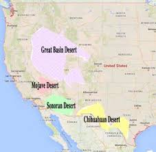 us desert map chihuahua desert and mesilla history letters from a