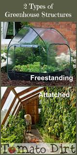 Types Of Community Gardens - 2 types of greenhouse structures freestanding and attached more