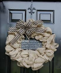 burlap wreath etsy wreath summer wreaths for home
