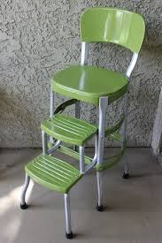 Cosco Bar Stool Vintage Green Cosco Step Stool By Theivorybill On Etsy Vintage