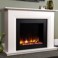 Electric Fireplace Suite Ultiflame Vr Elara Electric Fireplace Suite