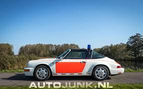 porsche 964 targa 964 targa rijkspolitie foto u0027s autojunk nl 207153