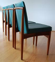 rosewood dining room furniture retro mid century rosewood danish modern dining chairs x 4 by rodd