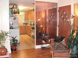 Mirrored Wall Tiles Hannah Uses Vintage 1970s Mirror Tiles To Add Dimension To Her