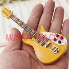miniature handmade electric guitar crafts miniature musical