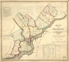 Map Of Counties In Pennsylvania by Maps And Mapmaking Encyclopedia Of Greater Philadelphia