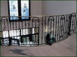 Wrought Iron Banister Wrought Iron Railings San Mateo Iron Railings Redwood City