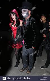 Hugh Hefner Halloween Costume Christian Audigier Nathalie Sorensen Attend Hugh Hefner U0027s