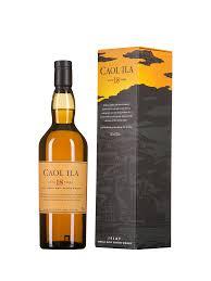 cadeau autour du whisky caol ila 18 ans d u0027âge whisky de ecosse en bouteille de 70 cl