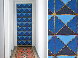 Door Pattern How To Make A Geometric Upholstered Door Hgtv